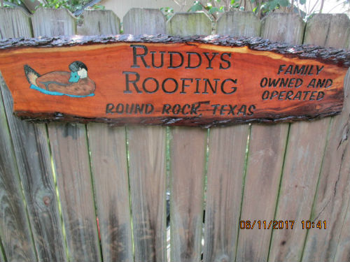 Ruddy is my old family nickname